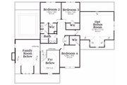 Craftsman Style House Plan - 4 Beds 2.5 Baths 2854 Sq/Ft Plan #419-177 Floor Plan - Upper Floor Plan