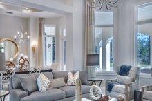 Mediterranean Interior - Family Room Plan #930-473