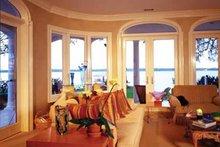 Mediterranean Interior - Family Room Plan #930-70