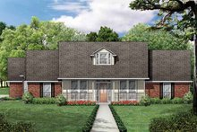 House Plan Design - Traditional Exterior - Front Elevation Plan #84-704