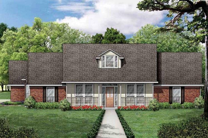 Traditional Exterior - Front Elevation Plan #84-704