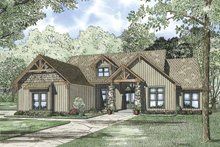 House Plan Design - Country Exterior - Front Elevation Plan #17-3315