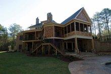 House Plan Design - Craftsman Exterior - Rear Elevation Plan #54-362