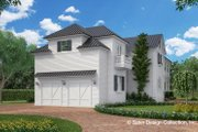 Classical Style House Plan - 3 Beds 4.5 Baths 4134 Sq/Ft Plan #930-460 Exterior - Rear Elevation