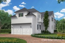Dream House Plan - Classical Exterior - Rear Elevation Plan #930-460