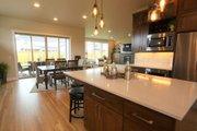 Prairie Style House Plan - 4 Beds 3 Baths 3109 Sq/Ft Plan #124-969 Interior - Kitchen