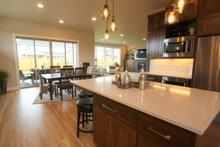 Architectural House Design - Prairie Interior - Kitchen Plan #124-969