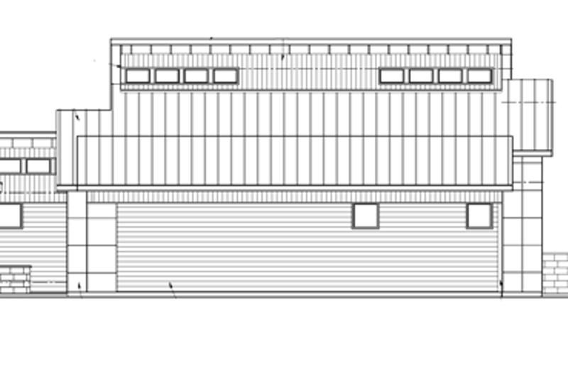 Contemporary Exterior - Other Elevation Plan #569-29 - Houseplans.com