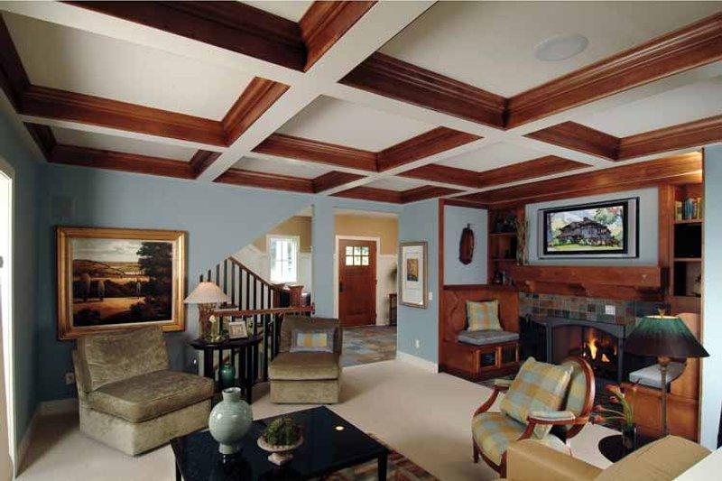 Craftsman Interior - Family Room Plan #928-18 - Houseplans.com
