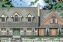 Architectural House Design - Country Exterior - Front Elevation Plan #42-691