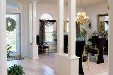 Architectural House Design - European Interior - Entry Plan #314-227