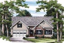House Plan Design - Ranch Exterior - Front Elevation Plan #927-811