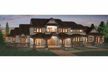 Craftsman Exterior - Front Elevation Plan #937-20
