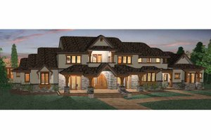 Architectural House Design - Craftsman Exterior - Front Elevation Plan #937-20