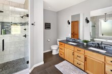 Craftsman Interior - Master Bathroom Plan #1070-15