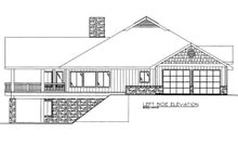 Bungalow Exterior - Other Elevation Plan #117-610