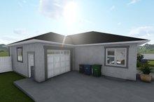 Ranch Exterior - Rear Elevation Plan #1060-39