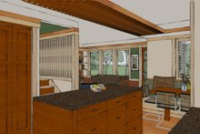 Craftsman Interior - Kitchen Plan #454-13