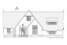 Home Plan - European Exterior - Front Elevation Plan #901-93