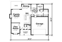 Traditional Floor Plan - Main Floor Plan Plan #20-2279