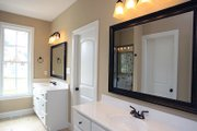 Country Style House Plan - 3 Beds 2 Baths 1657 Sq/Ft Plan #21-393 Interior - Master Bathroom