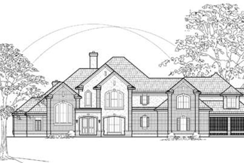 Traditional Exterior - Other Elevation Plan #61-179 - Houseplans.com