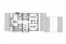 Farmhouse Floor Plan - Upper Floor Plan Plan #928-323