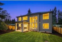 Home Plan - Contemporary Exterior - Rear Elevation Plan #1066-125