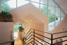 Home Plan - Contemporary Interior - Entry Plan #1039-4