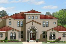 Home Plan - Mediterranean Exterior - Front Elevation Plan #1058-97