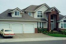Dream House Plan - Modern Exterior - Front Elevation Plan #124-367