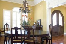 House Plan Design - Traditional Interior - Dining Room Plan #17-2775