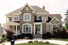 House Plan Design - Traditional Exterior - Front Elevation Plan #453-310