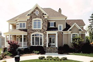 House Design - Traditional Exterior - Front Elevation Plan #453-310