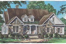 Home Plan - Traditional Exterior - Front Elevation Plan #929-983