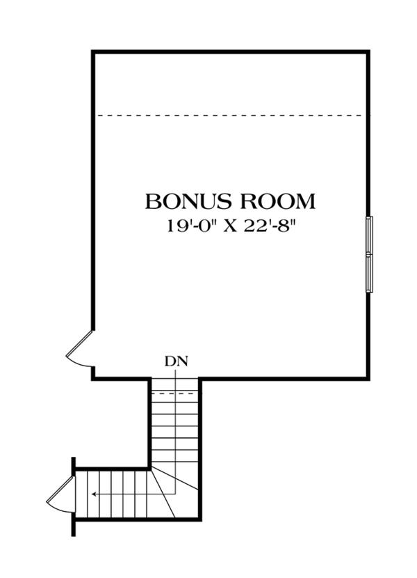 House Plan Design - Craftsman Floor Plan - Other Floor Plan #453-613