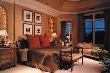 Mediterranean Interior - Master Bedroom Plan #930-256