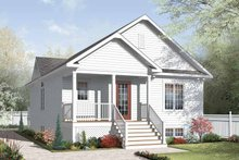 Traditional Exterior - Front Elevation Plan #23-2376