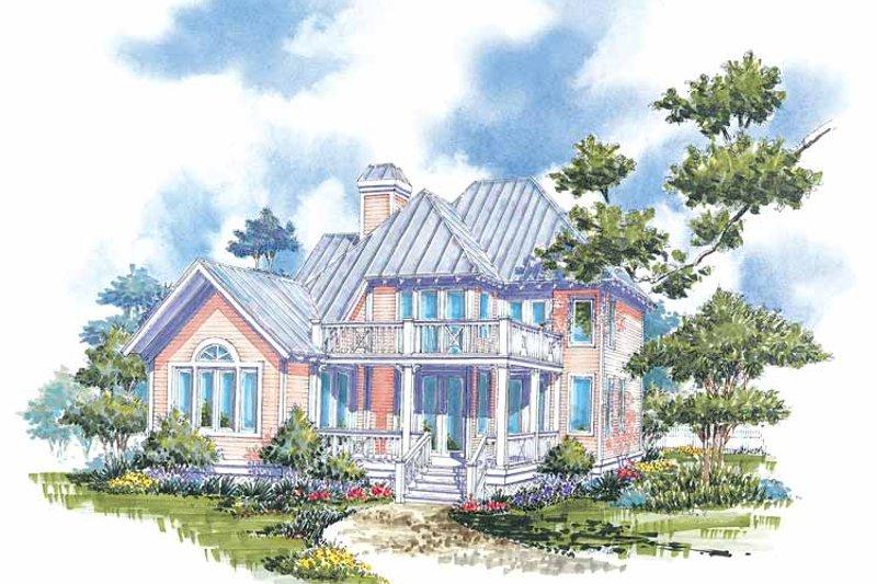 Victorian Exterior - Rear Elevation Plan #930-66 - Houseplans.com