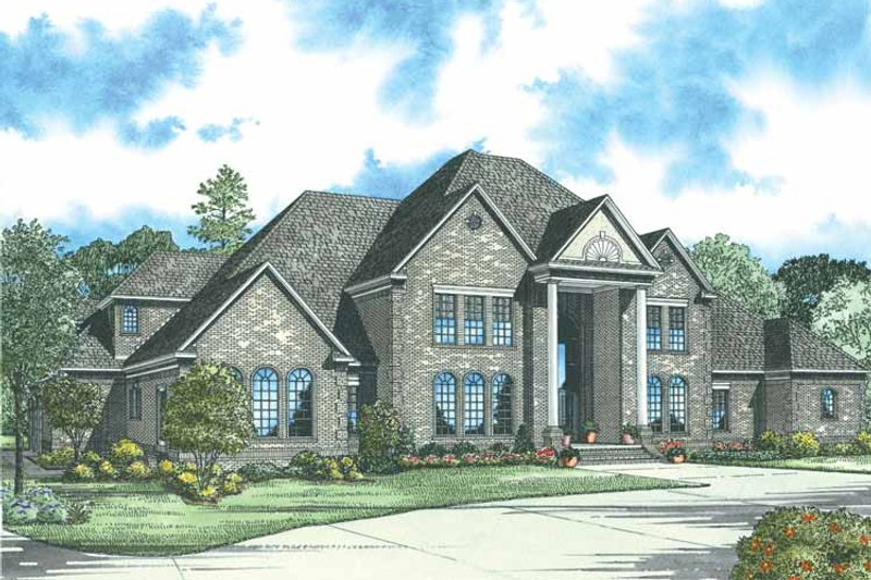 Traditional Exterior - Front Elevation Plan #17-2784 - Houseplans.com