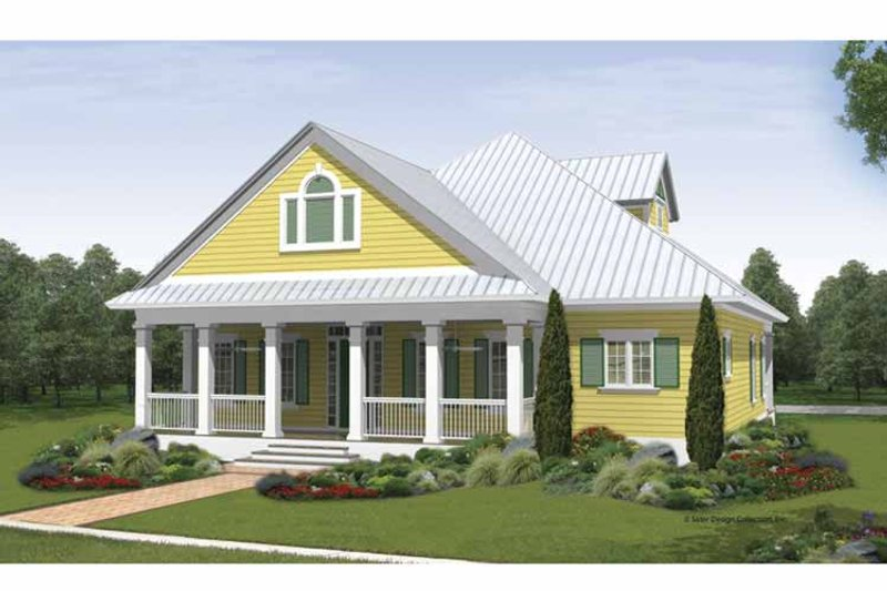 Traditional Exterior - Front Elevation Plan #930-405 - Houseplans.com