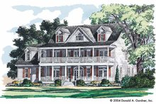House Plan Design - Country Exterior - Front Elevation Plan #929-731