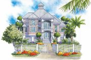 Traditional Style House Plan - 3 Beds 2 Baths 1978 Sq/Ft Plan #930-121 Exterior - Front Elevation