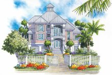 House Plan Design - Traditional Exterior - Front Elevation Plan #930-121
