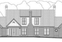 Architectural House Design - Southern Exterior - Rear Elevation Plan #406-106