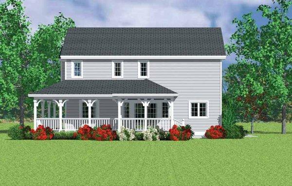Country Floor Plan - Other Floor Plan Plan #72-1116