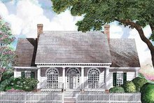 Architectural House Design - Classical Exterior - Front Elevation Plan #952-286