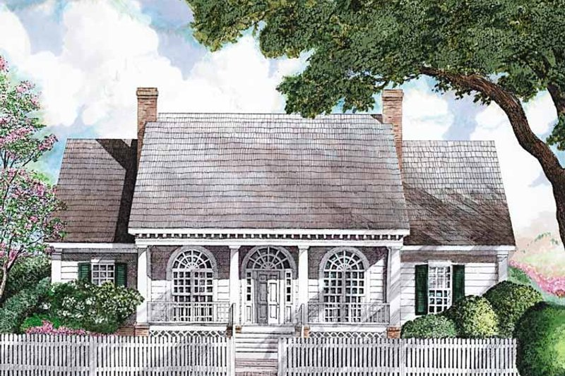 Classical Exterior - Front Elevation Plan #952-286 - Houseplans.com