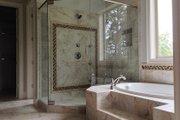 European Style House Plan - 4 Beds 5 Baths 3907 Sq/Ft Plan #437-70 Interior - Master Bathroom