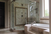 European Interior - Master Bathroom Plan #437-70
